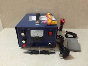 220v 400w Jewelry Laser Welding Machine Spot Welder Gold Silver With Handle Tool