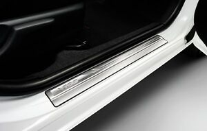 Genuine Toyota Car Accessory New Vios 2013 2018 Stainless Steel Scuff Plates