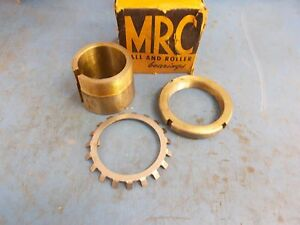 Mrc Ball Roller Bearing Adapter Y001 2 Bore