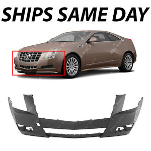 Primered Front Bumper Cover Fascia Replacement For 2008 2014 Cadillac Cts 08 14