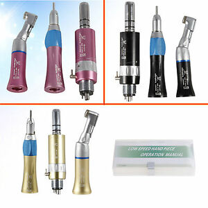 From Usa Dental Low Speed Handpiece Contra Angle Air Motor Straight 4h Nsk Type
