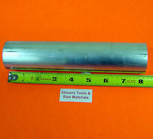 1 1 8 6061 T6511 Aluminum Solid Round Rod Bar 8 Long Extruded Lathe Stock New