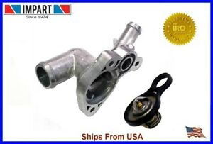 Mini Cooper S Super Charged Aluminum Thermostat Housing Thermostat 11537512733