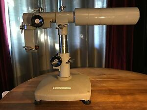 American Optical Microscope Boom Base Stand Array