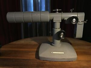 American Optical Microscope Boom Base Stand Array Missing Adjustment Screw