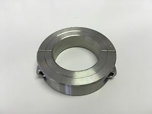 1pc 40mm Stainless Steel Double Split Shaft Collar 2mssc 40