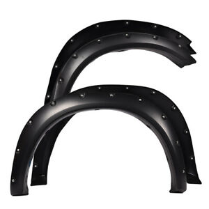 For 2009 2018 Dodge Ram 1500 Fleetside Models Bolt Fender Flares 2017