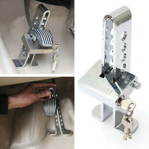 Car Anti theft Device Clutch Stainless Steel Brake Security Driving Safety Lock