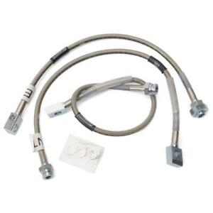 Russell Brake Hose Kit 672370 Dot Approved Front Rear For 88 00 Chevy Truck 4wd
