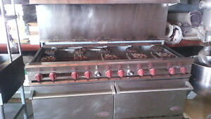 Used Dcs 60 10 2n Gas Range 2 Oven 10 Burner Stove Dcs