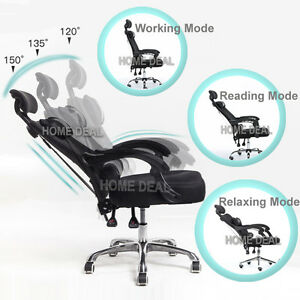 Tilt Modern Ergonomic Mesh High Back Executive Computer Desk Task Office Chair