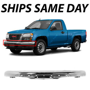 New Chrome Steel Front Bumper Face Bar For 2004 2012 Chevy Chevrolet Colorado