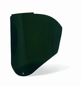 Uvex Bionic Infra dura Green Shade 5 Uncoated Polycarbonate Visor