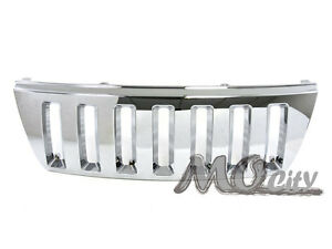 Front Replacement Grille Grill For Jeep 99 03 Grand Cherokee Chrome 00 01 02