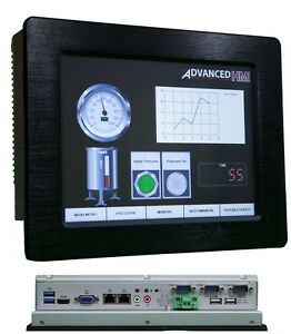 10 1 Touch Panel Pc Hmi Includes Free Software For Ab Omron Beckhoff Modbus