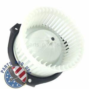New A c Ac Heater Blower Motor For Chevrolet Trailblazer Gmc Envoy Saab 89018747