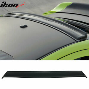 Fits 06 10 Dodge Charger Gt Style Rear Roof Spoiler Wing Unpainted Abs
