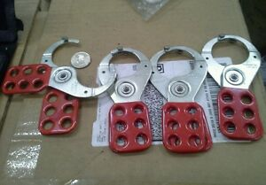 American Lock 6 Lock Machine Lockouts lot Of 4