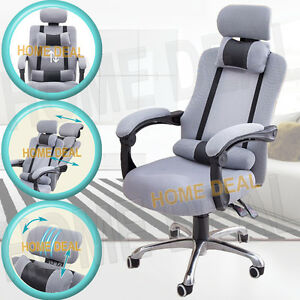 Modern Ergonomic Mesh High Back Executive Computer Desk Office Chair Decliner
