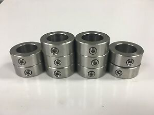 25pcs 3 4 Inch Stainless Steel Shaft Collar Solid Set Screw Ssc 075
