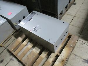 Asco Automatic Transfer Switch B940310099c 100a 480y 277v 60hz Used