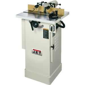 Jet 1 1 2 Hp 7000 9000 Rpm Space Saving Woodworking Shaper Jws 22cs New