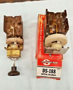1966 1967 1968 Ford Bronco F100 Truck Light Switch With Nos Switch New In Box