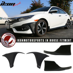 Special Deal Fits 16 18 Civic Coupe 2dr Hfp Style Pp Front Pu Rear Bumper Lip