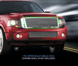 Billet Grille Grill Upper Grill For Ford Expedition 2007 2014 08 09 10 11