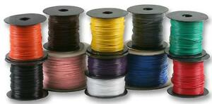 Ul1007 5cm 500 Ft Hook up Wire Solid 22 Gauge Up To 10 Asst Colors You Choose