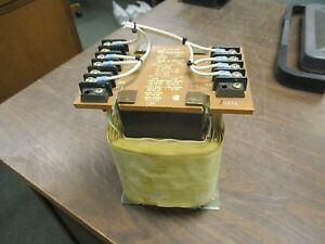 Basler Electric Transformer Be 10493 002 Used