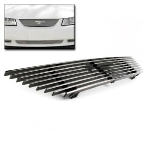1999 2004 Ford Mustang Gt Svt Base Upper Billet Grille Grill Insert Logo Cut Out