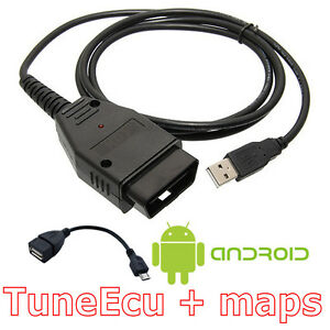 Tuneecu Compatible Kkl Lead Tune Ecu Includes Android Usb