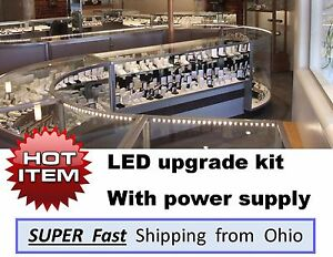 Showcase Display Case Led Upgrade Light Kits Complete With Transformer