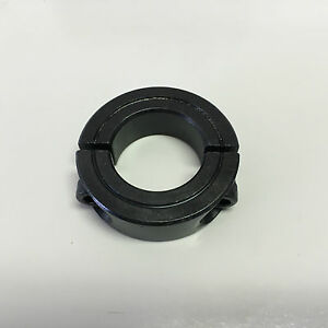 1pc 34mm Double Split Shaft Collar Black Oxide Finish 2msc 34 Metric