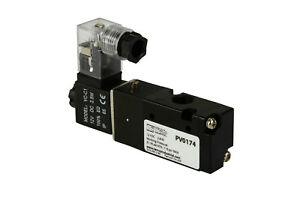 New 12v Dc Solenoid Air Pneumatic Control Valve 3 Port 3 Way 2 Position 1 8 Npt