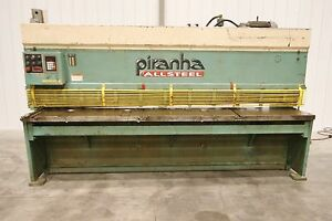 12291 Piranha 10 X Hydraulic Shear Model M1 4 10