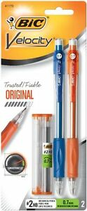Bic Velocity 2 Mechanical Pencil 0 7 Mm 2 Ct 6 Pack