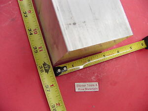 3 X 3 Aluminum 6061 Square Solid Bar 36 Long T6511 Flat Mill Stock