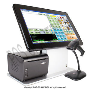 Cornerstore Pos Retail Complete Bundle With Pos x Tp5 Touchscreen Computer Aio