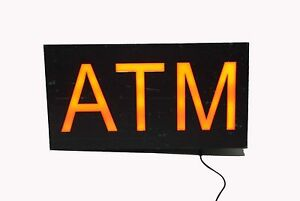 Atm Sign Store Atm Light Box Atm Led Window Sign Atm Ligh Sign Atm Signage