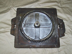 Steampunk Decor Industrial Pattern For Molding Oliver 217 Bandsaw Part