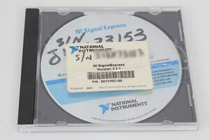 National Instruments Signalexpress Software V1 1 1 501280c 01 With Serial Number