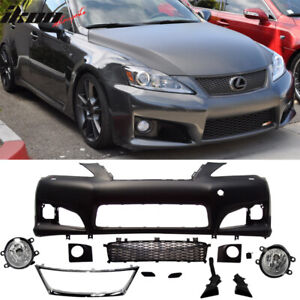 Fits 09 10 Lexus Is250 350 Isf Front Bumper Cover Conversion No Pdc W Foglight