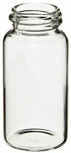 Wheaton 986532 Borosilicate Glass 20ml Liquid Scintillation Vial Without 22 400