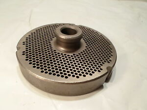 Lightly Used Speco 400 1 8 Th Holes Meat Grinder Plate Part No 106298