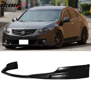 Fits 09 10 Acura Tsx Cu1 Jdm Type S Style Front Bumper Lip Spoiler Urethane Pu