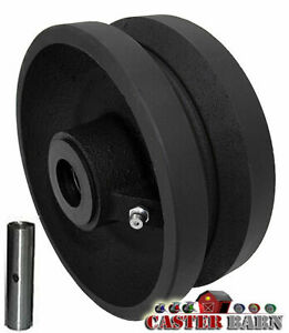Casterhq 8 X 2 V Groove Wheel 1200 Lbs Capacity Replacement Wheel Commercial i