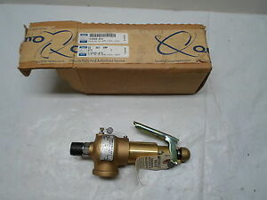 New Oem Quincy Part No 112526 475 Relief Valve 475 Psi