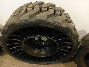12 16 5 Michelin Tweel Skid Steer Tire wheel rim For Bobcat More 12x16 5 34735